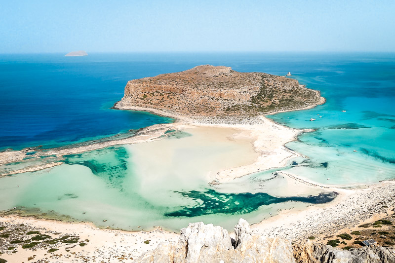 Balos Kreta Ausflug Lagune Bootstour
