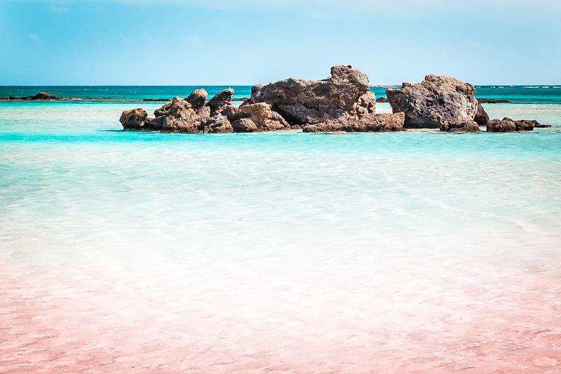 Elafonisi Kreta Strand Tagestour