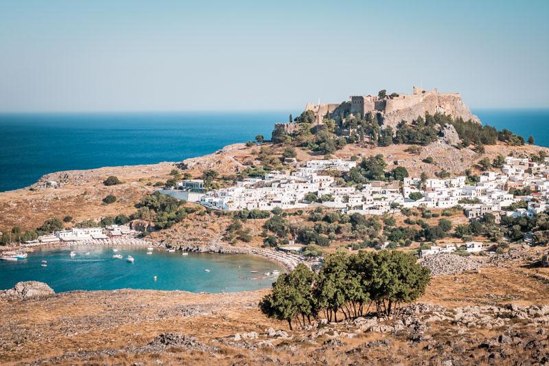 Lindos Rhodos Akropolis