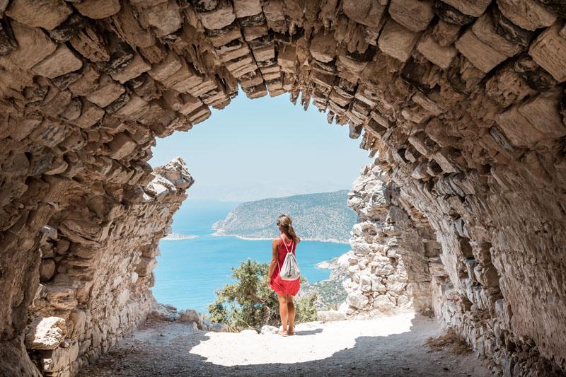 Monolithos Rhodos Ausflug
