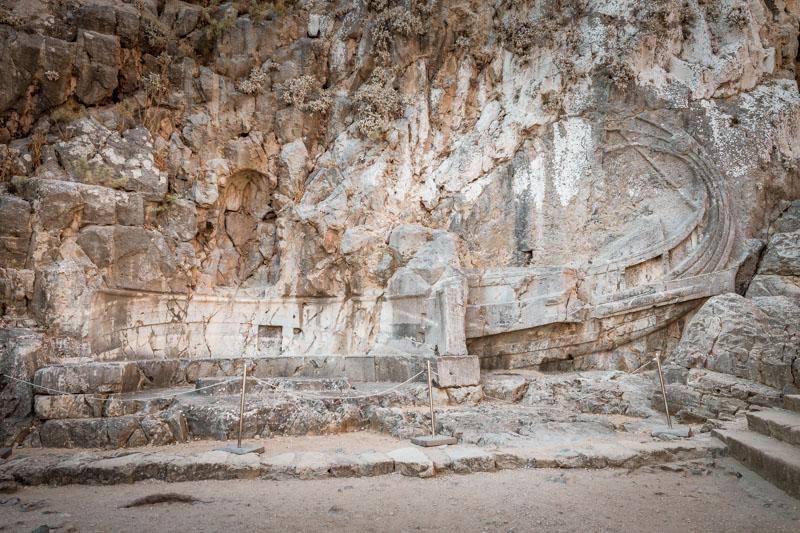 Rhodos akropolis lindos relief