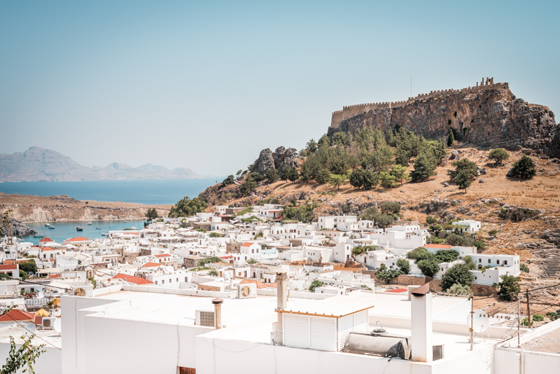 Rhodos lindos akropolis rhodes