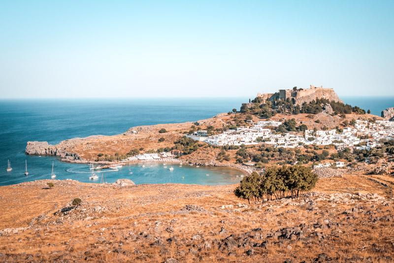 Rhodos lindos akropolis