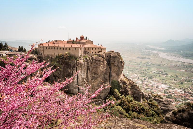 meteora agios stefanos monastery