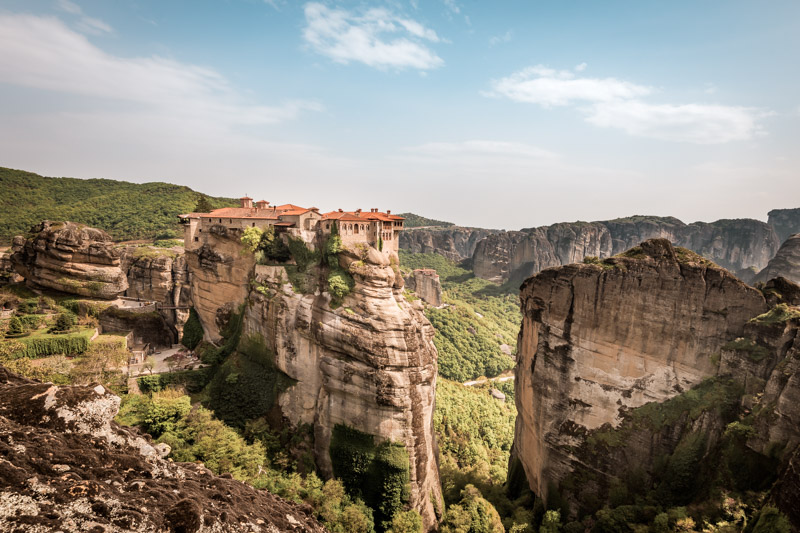 meteora monastery varlaam greece