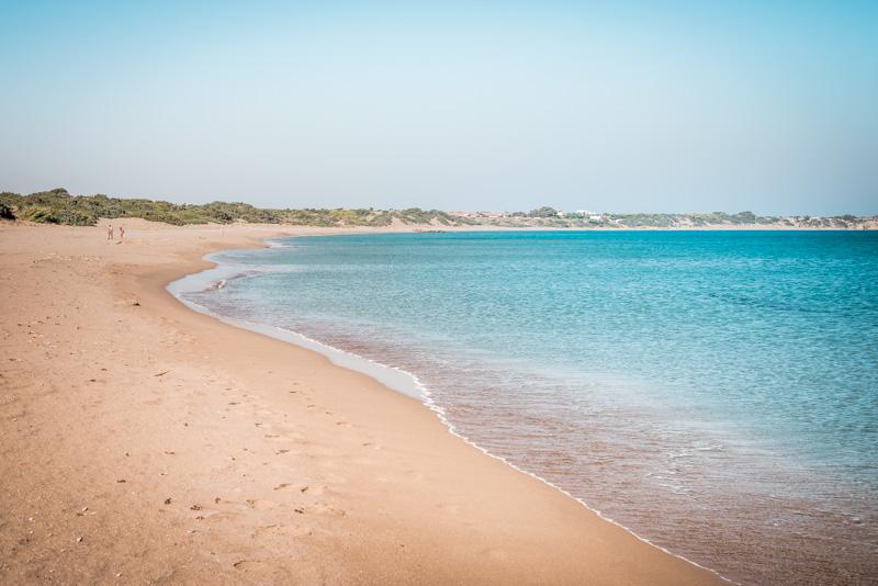 rhodos agios georgios beach strände kinder