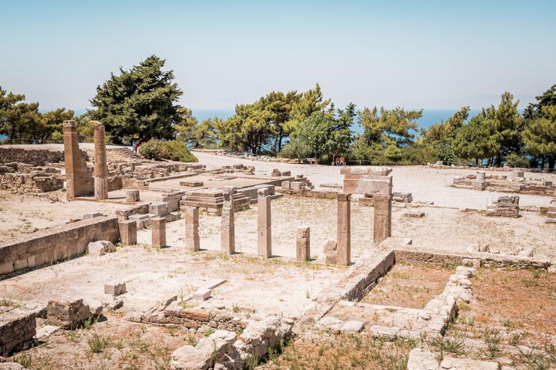 rhodos ausflüge kamiros antike stätte