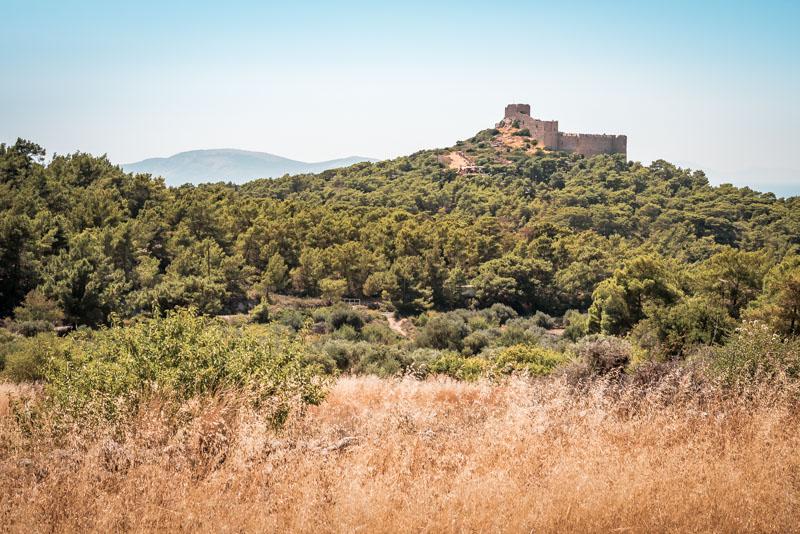 rhodos ausflüge kritinia castle burg kastellos