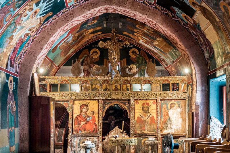 rhodos siana agios panteleimon old church