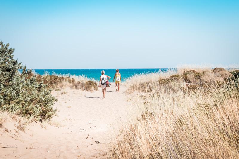 rhodos strände agios georgios beach dünen