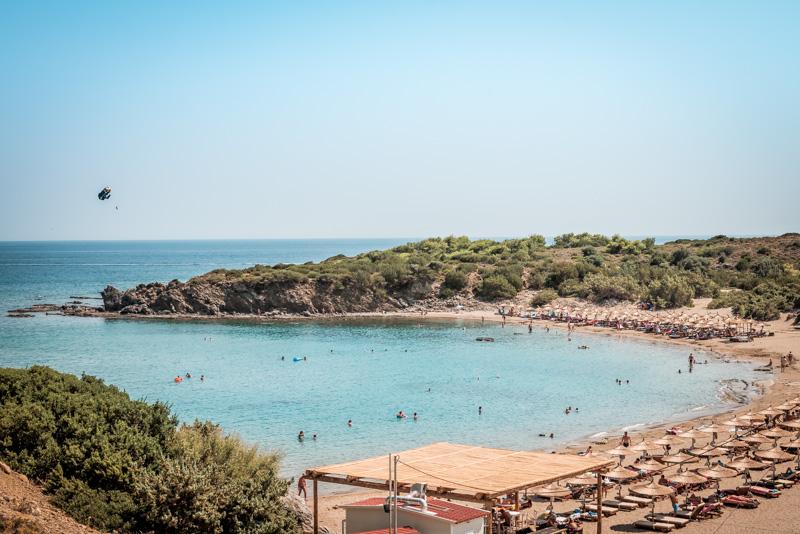 rhodos strände glystra beach