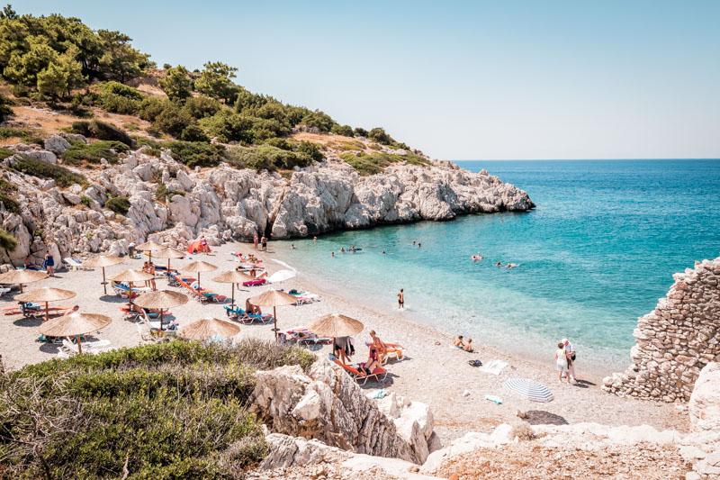 rhodos strände kopria beach