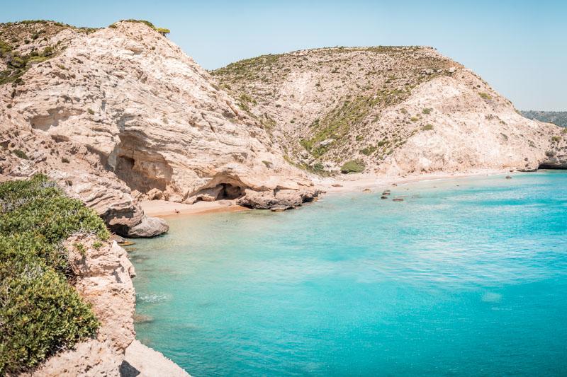 rhodos strände koustik beach