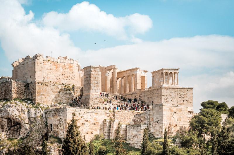 Akropolis Athen Griechenland Sehenswürdigkeiten