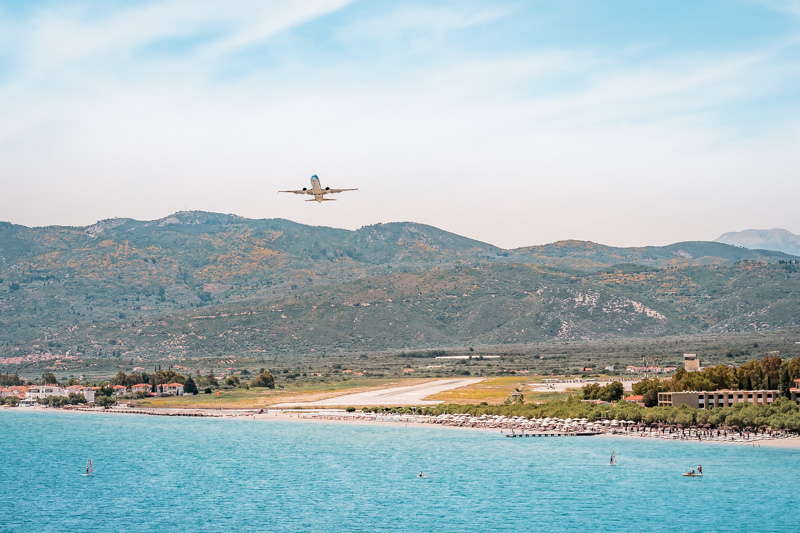 Anreise Griechenland Flugzeug