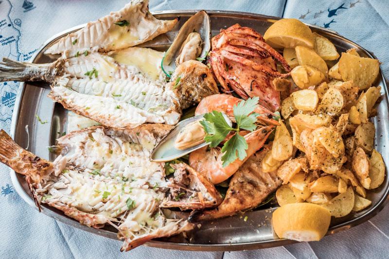 Griechische Küche Typisch Griechenland Essen