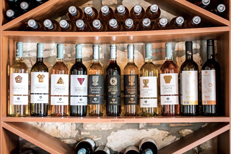 Guter Griechischer Wein Vakakis Weingut