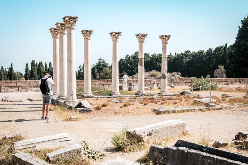 Antike Stätten Insel Kos Asklepieion