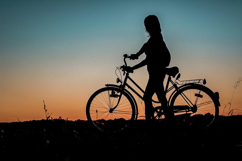 Athen Fahrrad Tour Sonnenuntergang
