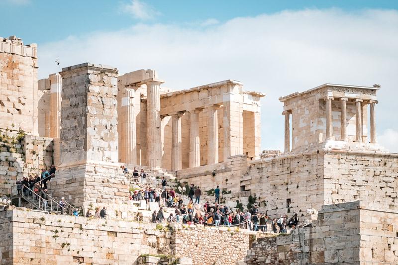 Eintritt Akropolis Athen Rundgang