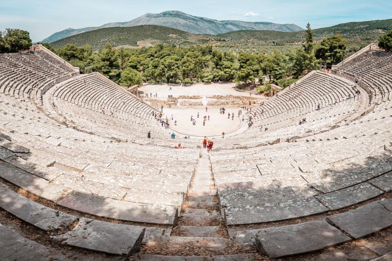 Epidauros Theater Peloponnes