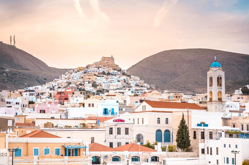 Ermoupoli Syros Kykladen Urlaub Beliebte Reiseziele
