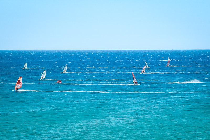 Griechische Insel für Windsurfer Kiter
