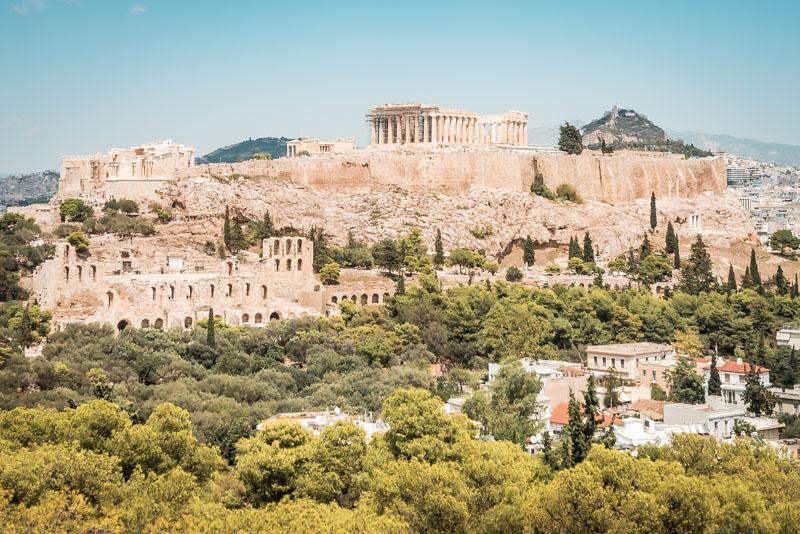 Hauptstadt Griechenland Athen Sehenswürdigkeiten