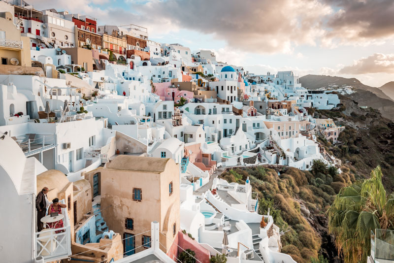 Highlights griechische Inseln Santorini Oia
