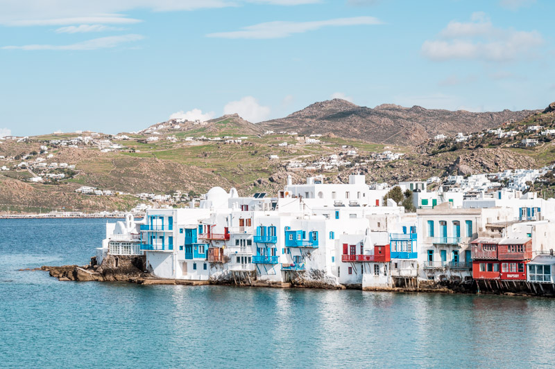 Insel Mykonos Griechenland