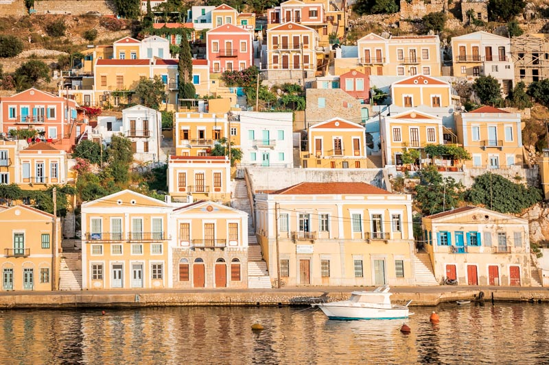 Insel Symi Besondere Architektur