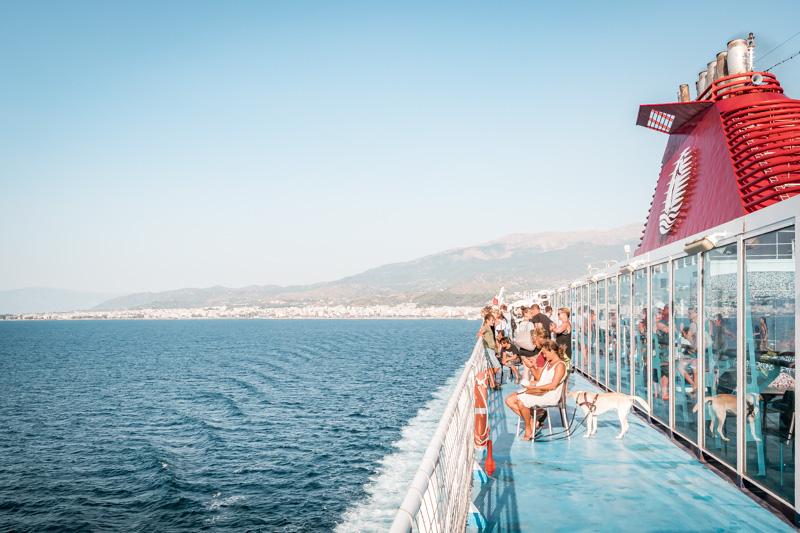 Italien Fähre nach Griechenland Patras Ancona
