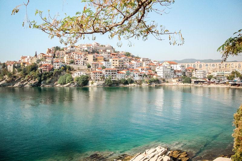 Kavala Altstadt Griechenland Region Ostmakedonien