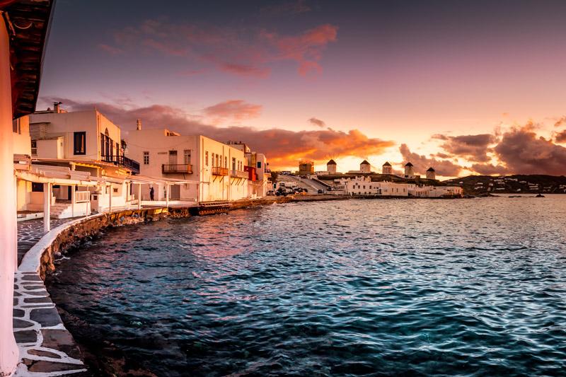 Mykonos Klein Venedig Griechenland