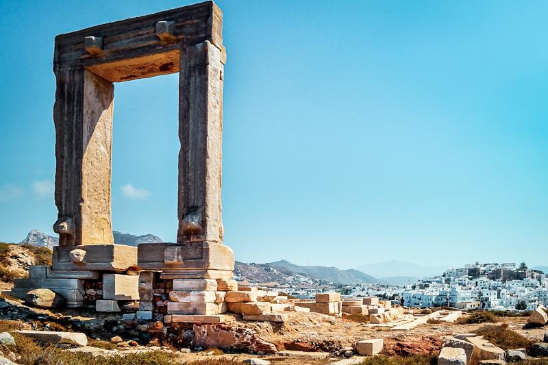 Portara Naxos Griechenland