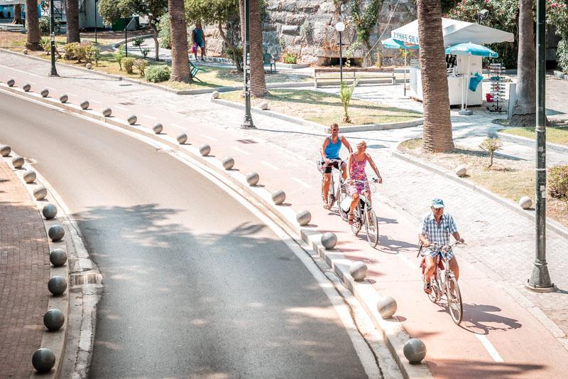 Radfahren Kos Fahrrad Wege