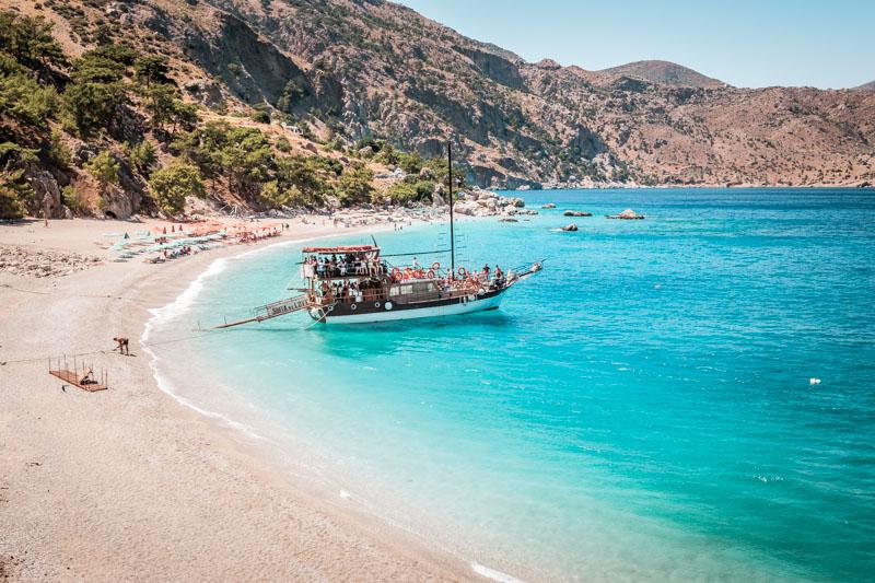 Schönste Strände Griechenland Apella Karpathos