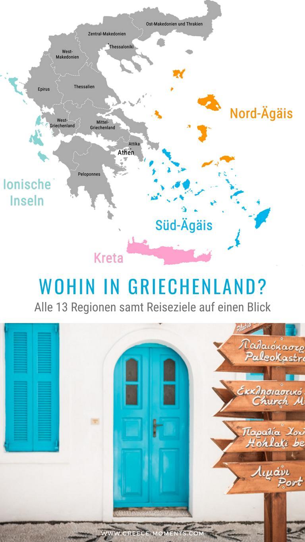 griechenland regionen reiseziele