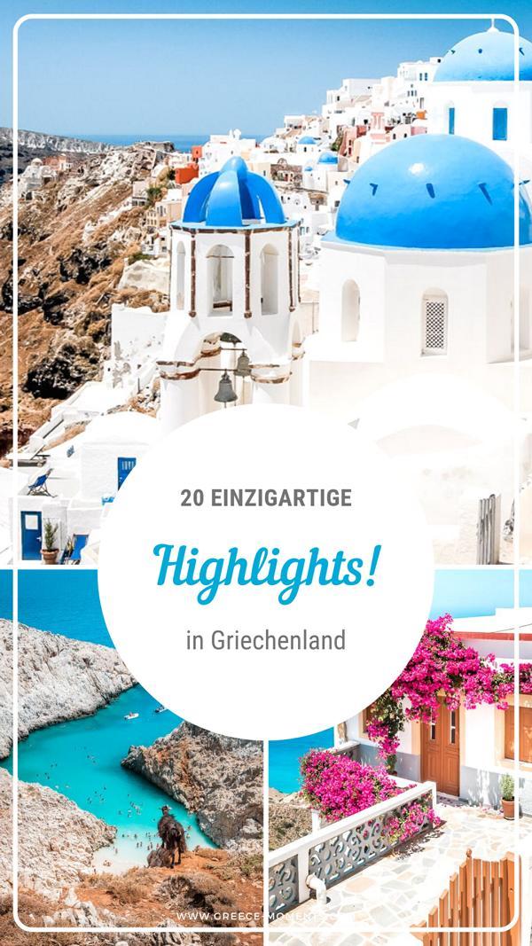 griechenland sehenswuerdigkeiten highlights