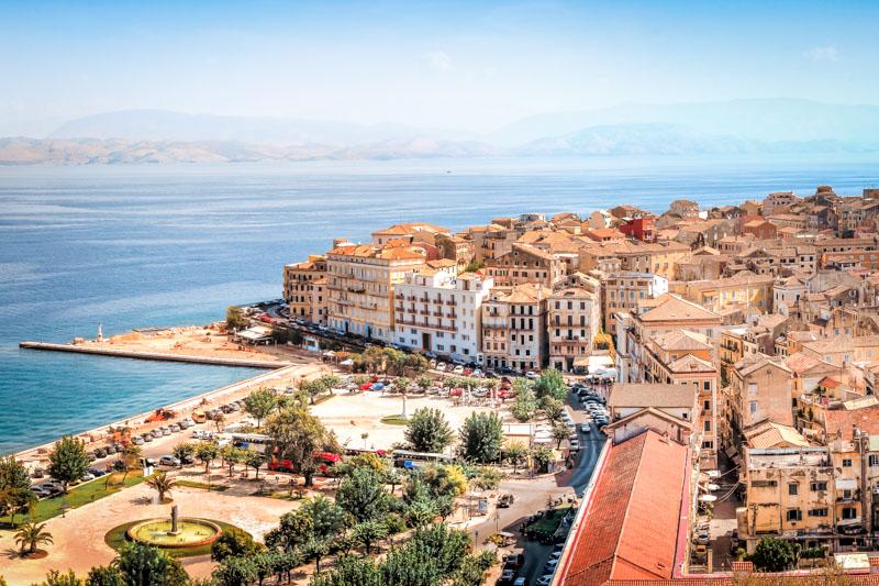 Beliebte Griechische Inseln Korfu Urlaubsziele Griechenland