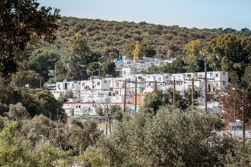 Flüchtlingslager Moria Lesbos Migranten Hotspot