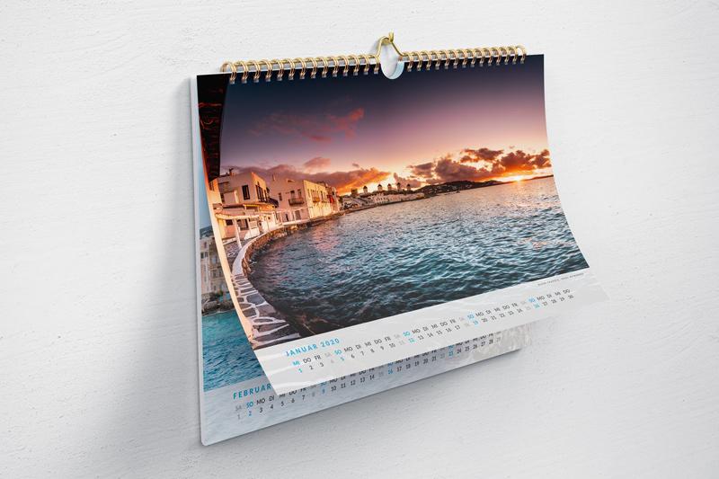 Griechenland Kalender 2020 Kaufen Geschenk Weihnachten