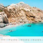 Griechenland Kalender Wandkalender 2020 Ikaria