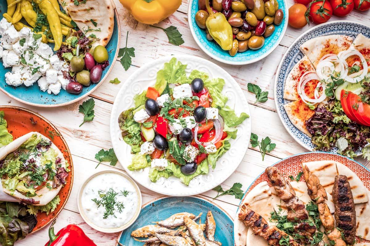 Griechische Küche • Typische Gerichte der Griechenland ...