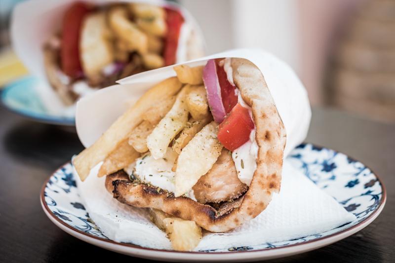 Gyros Griechenland Griechische Speisekarte