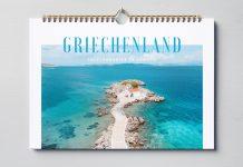 Kalender Griechenland Wandkalender Ausdrucken PDF