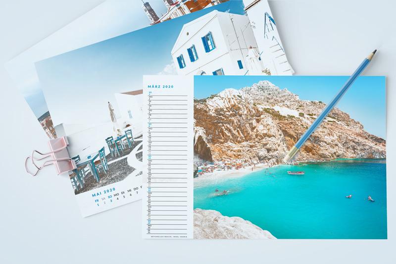 Kalender als PDF Ausdrucken Selber Gestalten