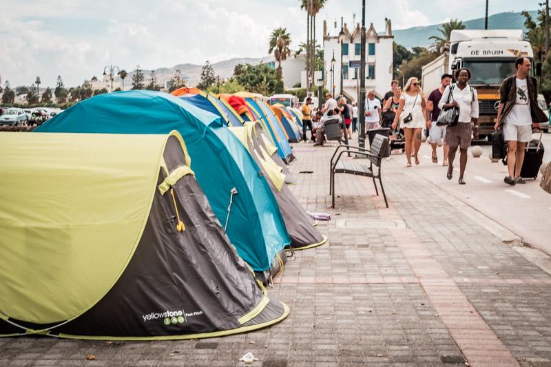 Kos Flüchtlinge Hafen Kos Stadt 2015
