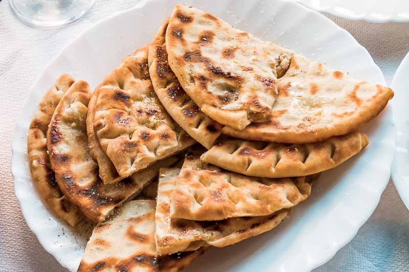 Pita Brot Leckeres Griechisches Essen