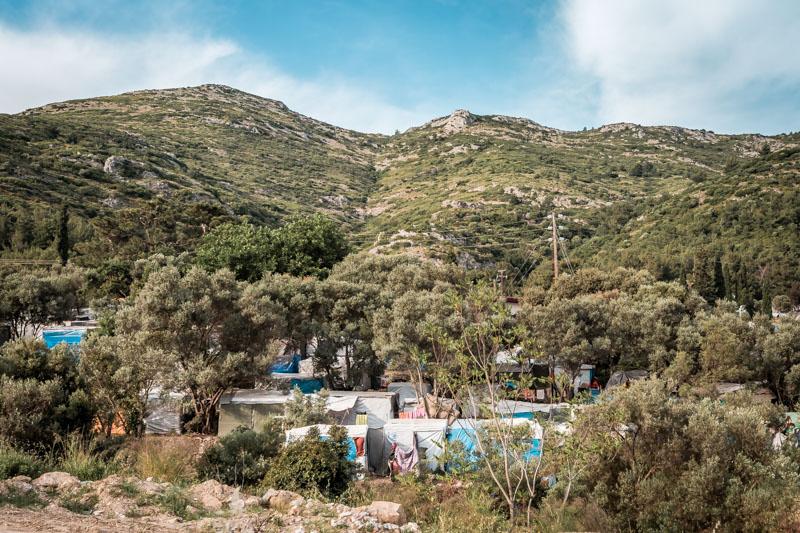Samos Flüchtlingslager Vathy Flüchtlinge Griechenland